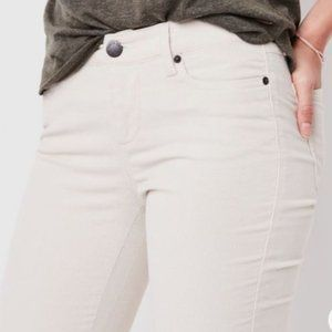 ROOTS Stretch Riley Cord Pants Birch White 31 NEW